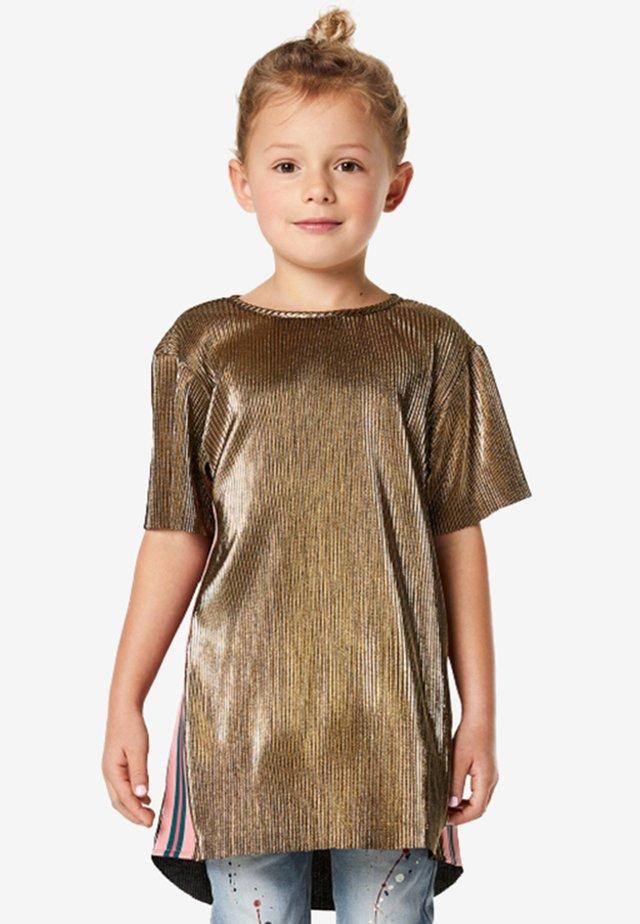 ALBERTVILLE - T-shirt print - gold