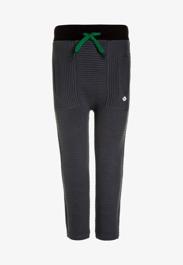 PANTS SLIM VERENE - Tracksuit bottoms - graphite