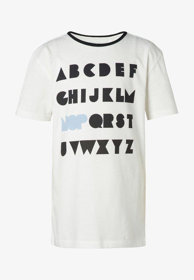 RIGA - T-shirt print - off white