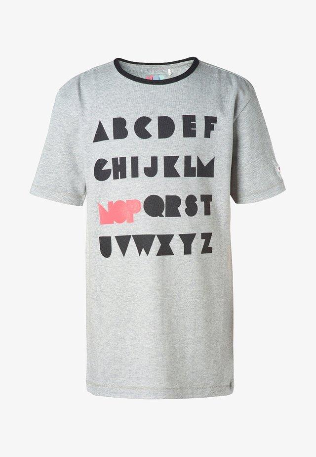 SOFIA - T-Shirt print - grey melange