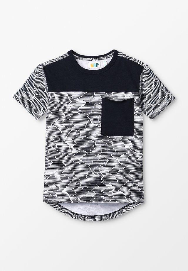 TEE BESSEMER - T-shirt med print - bright white