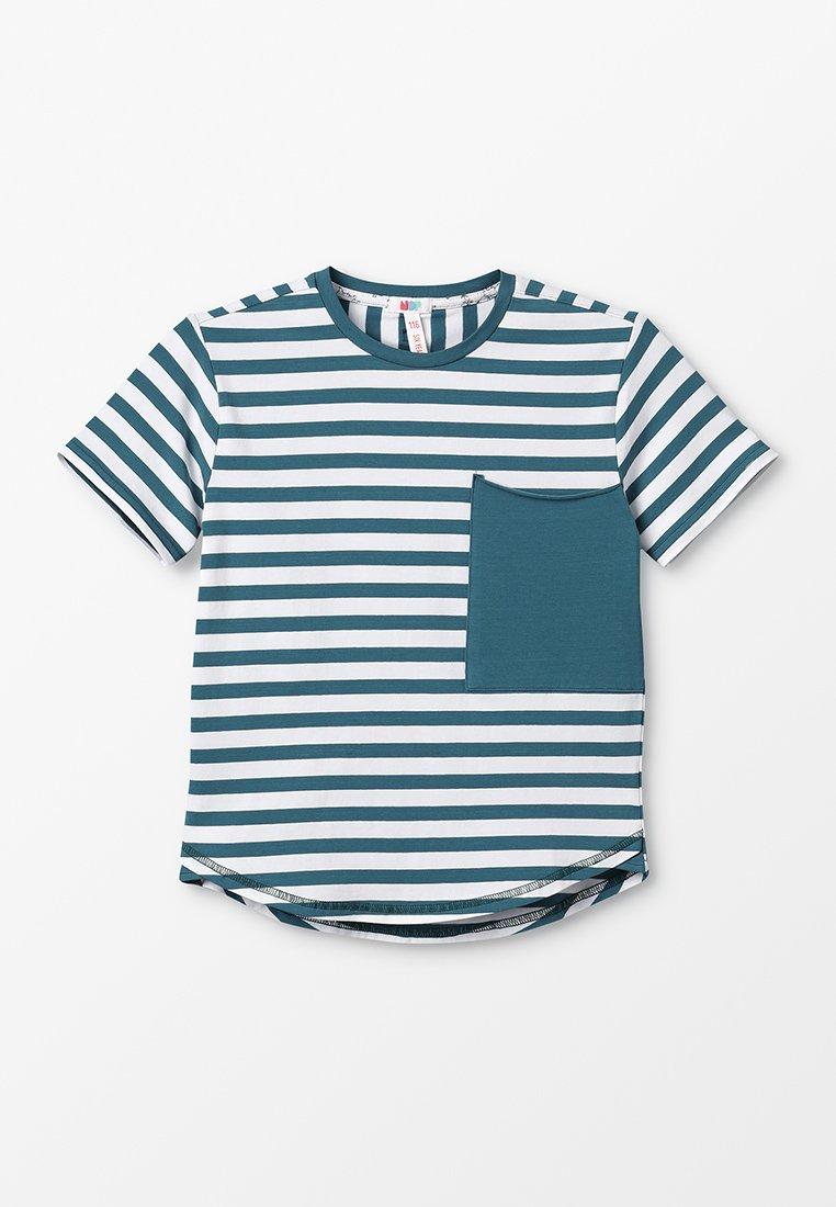 NOP - Print T-shirt - pacific