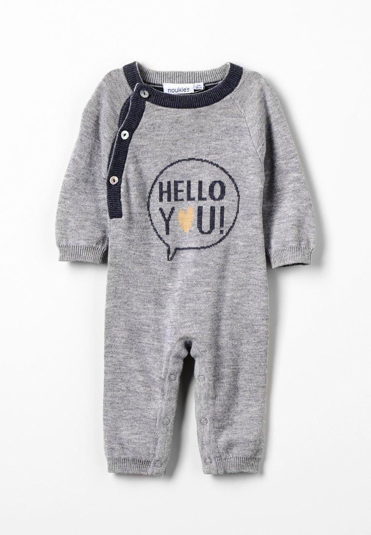 Noukie's - COCON COMBI HELLO GRIS BABY - Jumpsuit - grey