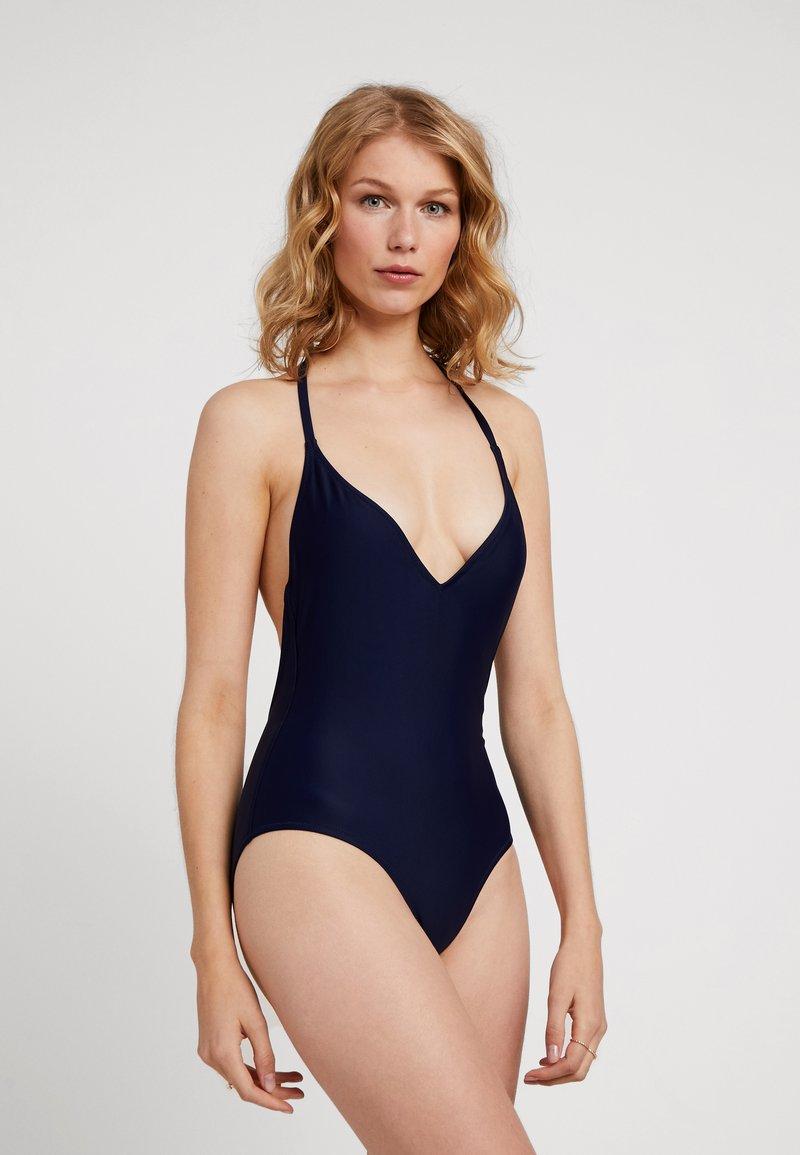 NON COMMUN - BEACH ONE PIECE - Badeanzug - dark blue