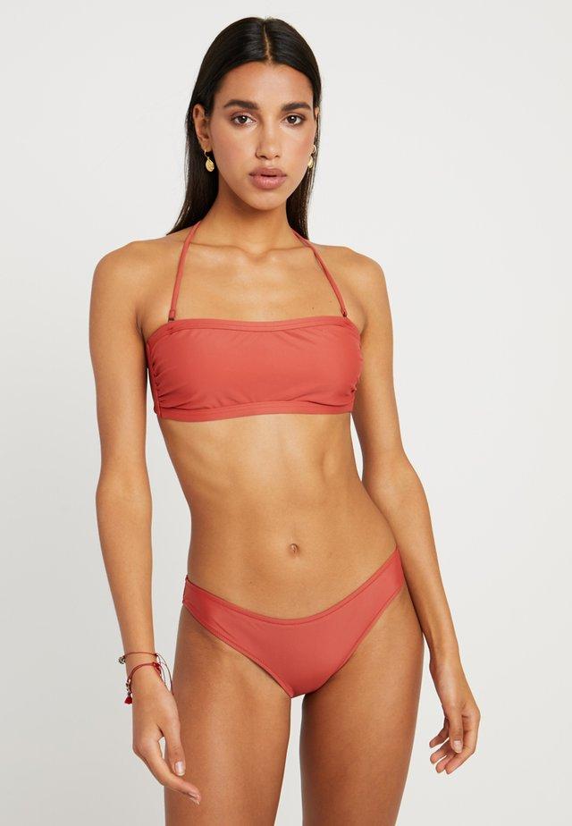 PARADISE SET - Bikini - terracotta
