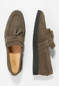 NOIRE LINE - MILO - Slipper - brown - 1