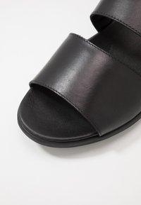 NOIRE LINE - ADOM - Sandals - black - 5