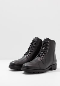 NOIRE LINE - MICK - Lace-up ankle boots - black - 2