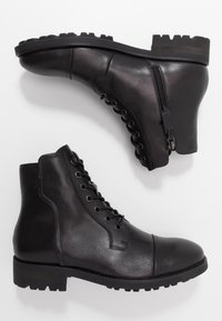 NOIRE LINE - MICK - Lace-up ankle boots - black - 1
