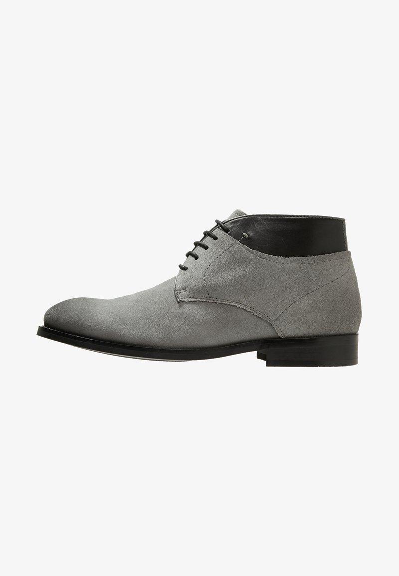 À Line Noire Grey StoneChaussures black Lacets 9HIWED2