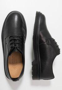NOIRE LINE - MIC - Šněrovací boty - black - 1