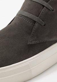 NOIRE LINE - DOVER - Casual lace-ups - dark grey - 5