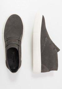 NOIRE LINE - DOVER - Casual lace-ups - dark grey - 1