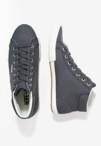 NOIRE LINE - REX - Zapatillas altas - navy - 1