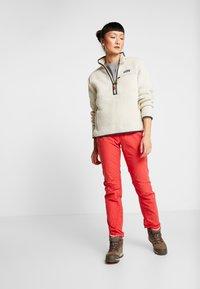 Norrøna - SVALBARD LIGHT PANTS - Kangashousut - crisp ruby - 1