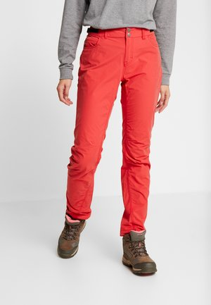 SVALBARD LIGHT PANTS - Spodnie materiałowe - crisp ruby