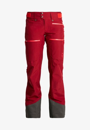 LOFOTEN GORE-TEX INSULATED PANTS - Schneehose - rhubarb