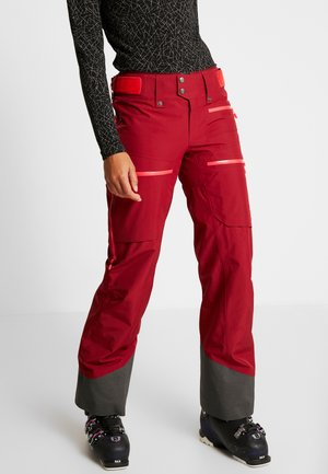 LOFOTEN GORE-TEX INSULATED PANTS - Skibroek - rhubarb