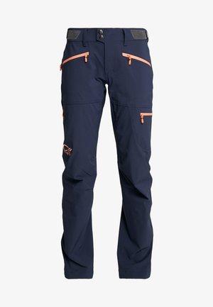 FLEX PANTS - Outdoor trousers - indigo night/melon