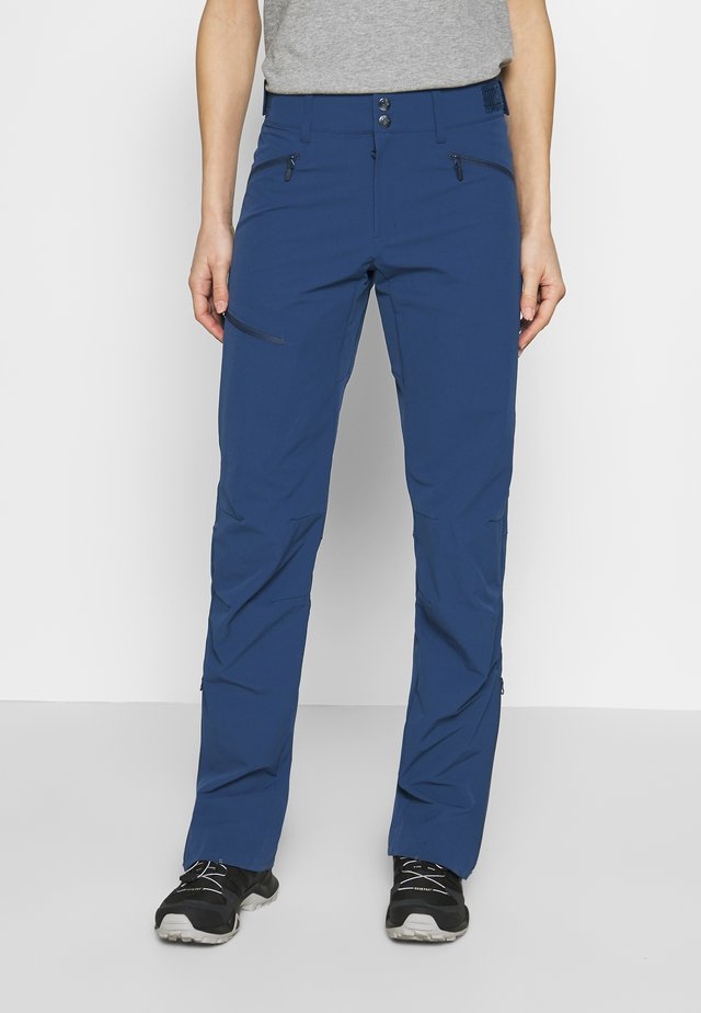 FALKETIND FLEX PANTS - Friluftsbyxor - indigo night