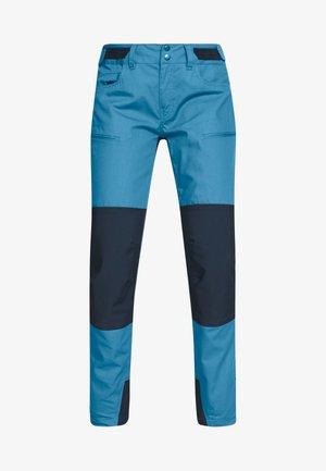 SVALBARD HEAVY DUTY PANTS - Długie spodnie trekkingowe - coronet blue