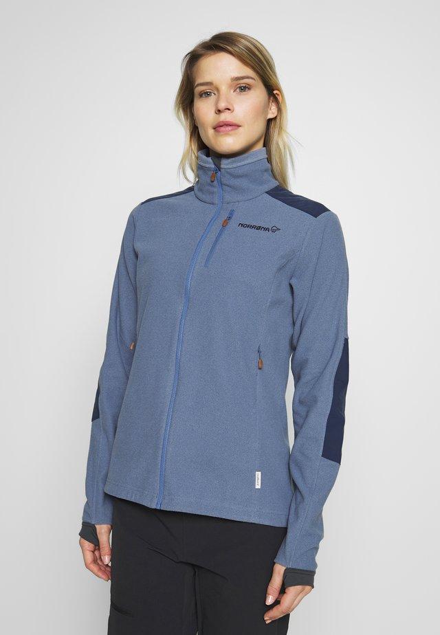 SVALBARD WARM JACKET - Fleecová bunda - coronet blue