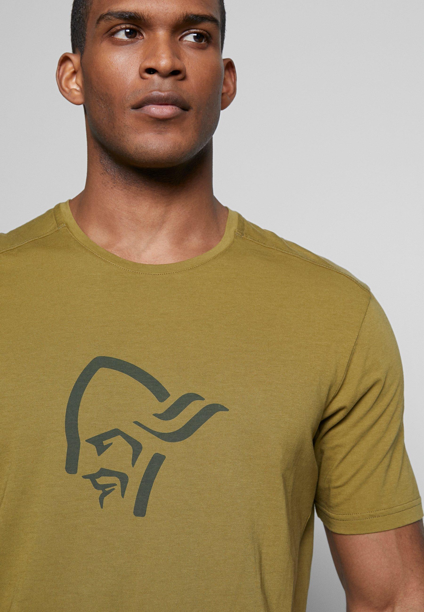 Norrøna T-shirt imprimé - olive drab