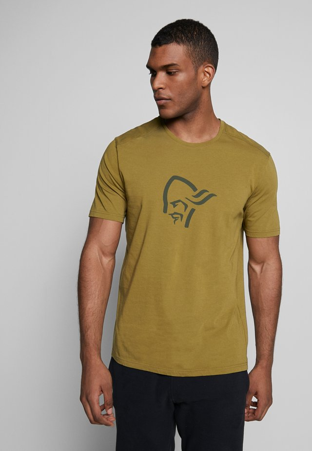 T-shirts med print - olive drab