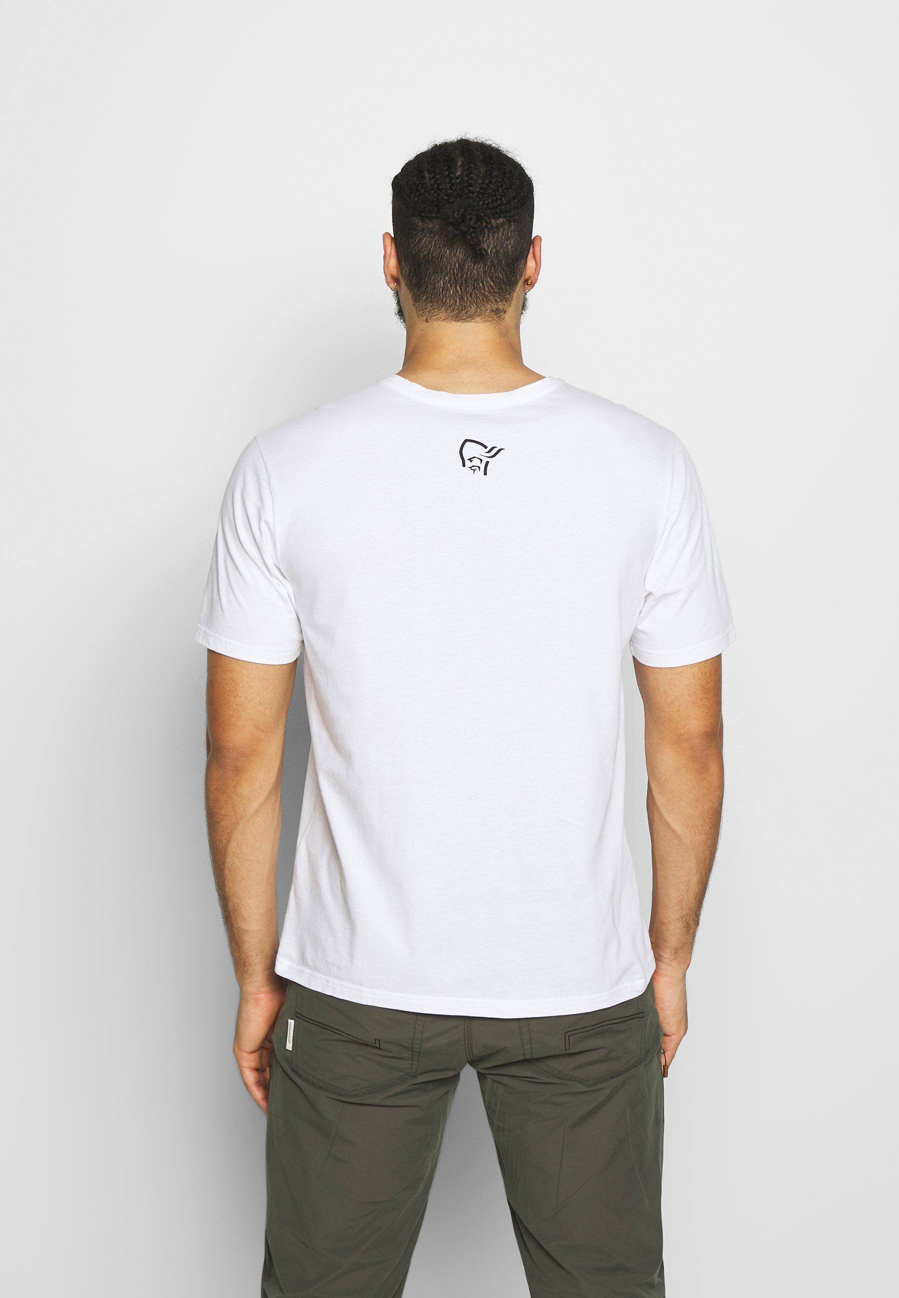 Norrøna Range - T-shirts Print White