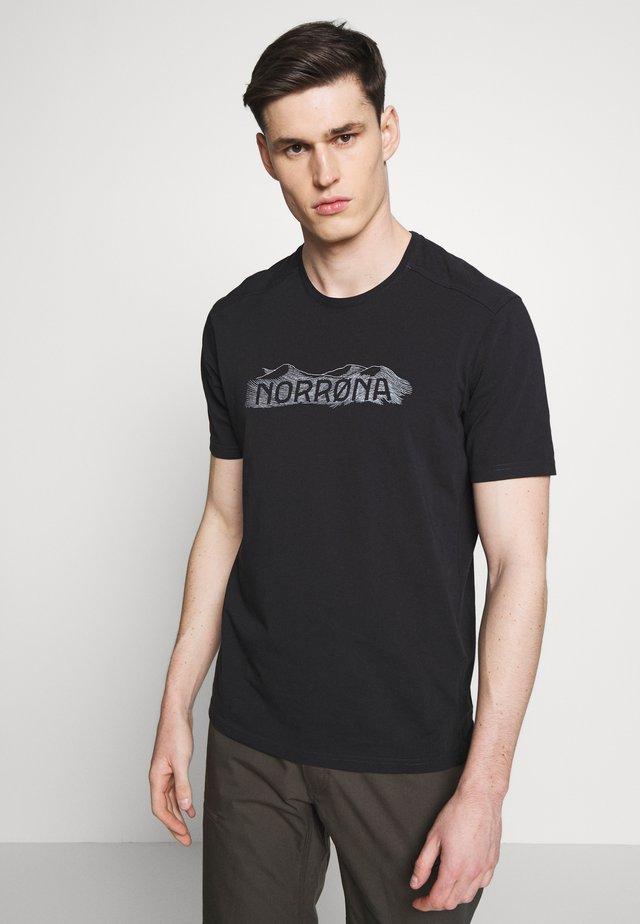 RANGE  - T-shirt med print - caviar