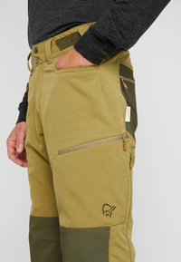 Norrøna - SVALBARD HEAVY DUTY PANTS - Trousers - olive drab - 3