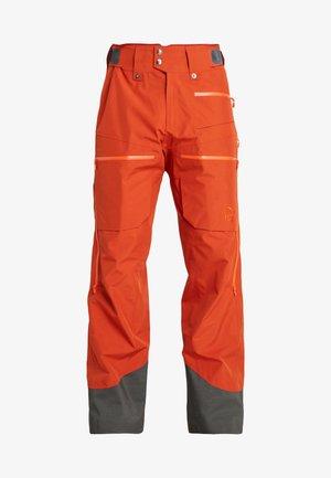 LOFOTEN GORE-TEX INSULATED PANTS - Spodnie narciarskie - rooibos tea