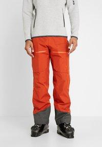 Norrøna - LOFOTEN GORE-TEX INSULATED PANTS - Snow pants - rooibos tea - 0