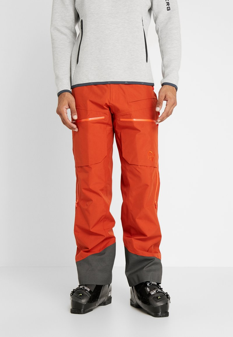Norrøna - LOFOTEN GORE-TEX INSULATED PANTS - Snow pants - rooibos tea