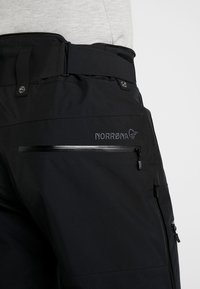 Norrøna - LOFOTEN GORE-TEX INSULATED PANTS - Skibroek - caviar - 7