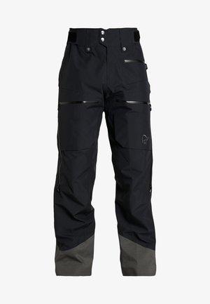 LOFOTEN GORE-TEX INSULATED PANTS - Spodnie narciarskie - caviar