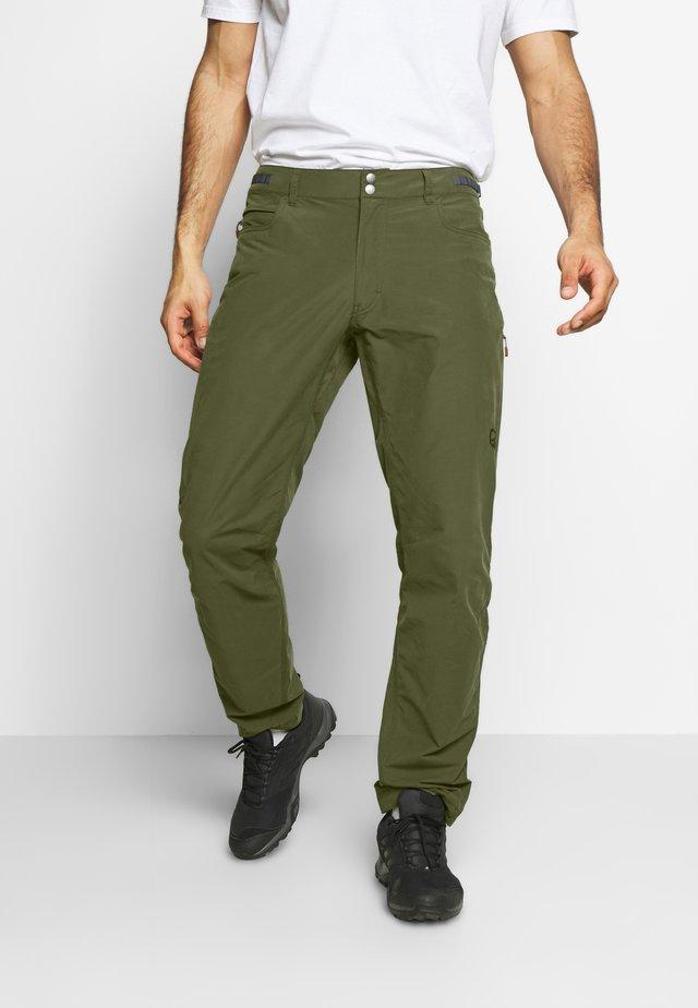 SVALBARD PANTS - Spodnie materiałowe - slate grey