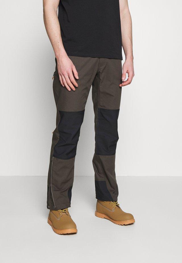 SVALBARD HEAVY DUTY PANTS - Długie spodnie trekkingowe - slate grey