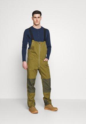 SVALBARD HEAVY DUTY - Pantalon classique - olive drab