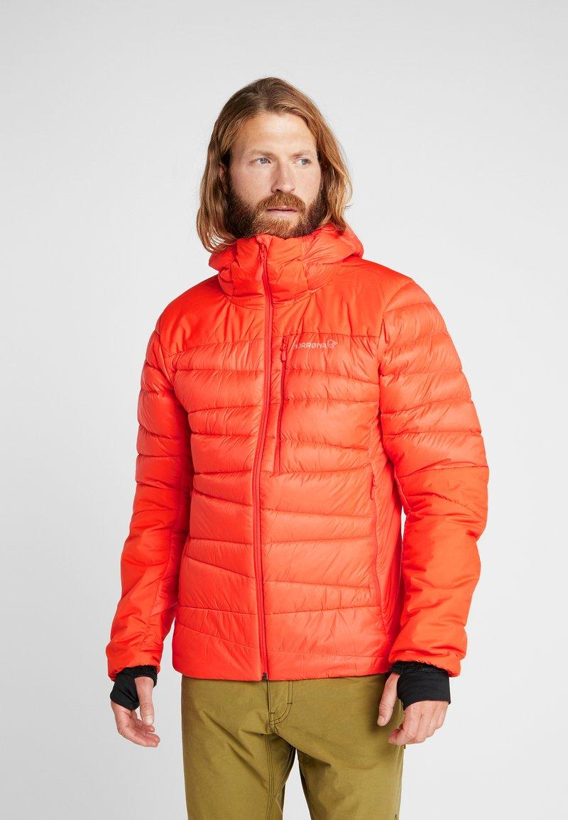 Norrøna - FALKETIND HOOD JACKET - Down jacket - arednalin