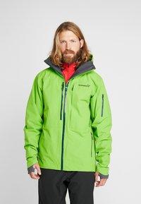 Norrøna - LOFOTEN - Veste de ski - bamboo green - 0