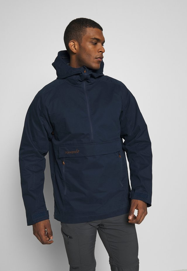 SVALBARD ANORAK - Outdoorjacka - indigo night