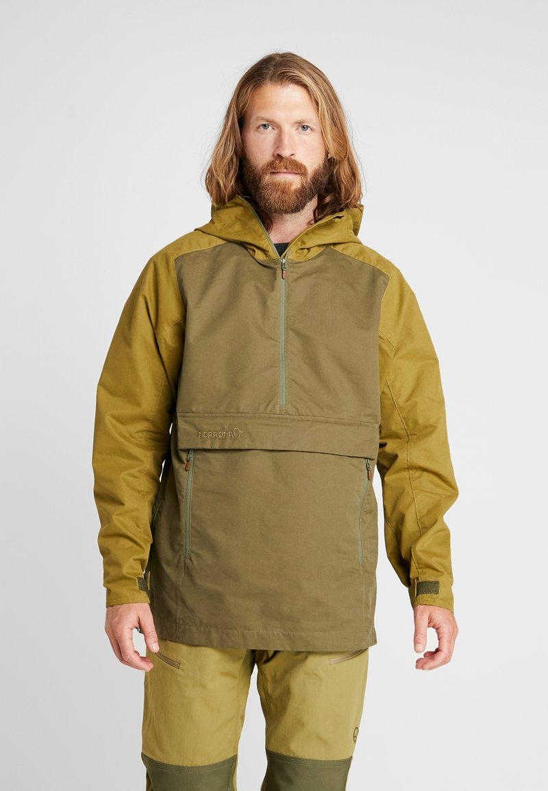 Norrøna - SVALBARD ANORAK - Outdoorová bunda - olive drab