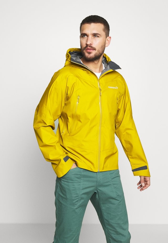 FALKETIND GORE TEX JACKET - Kuoritakki - golden palm