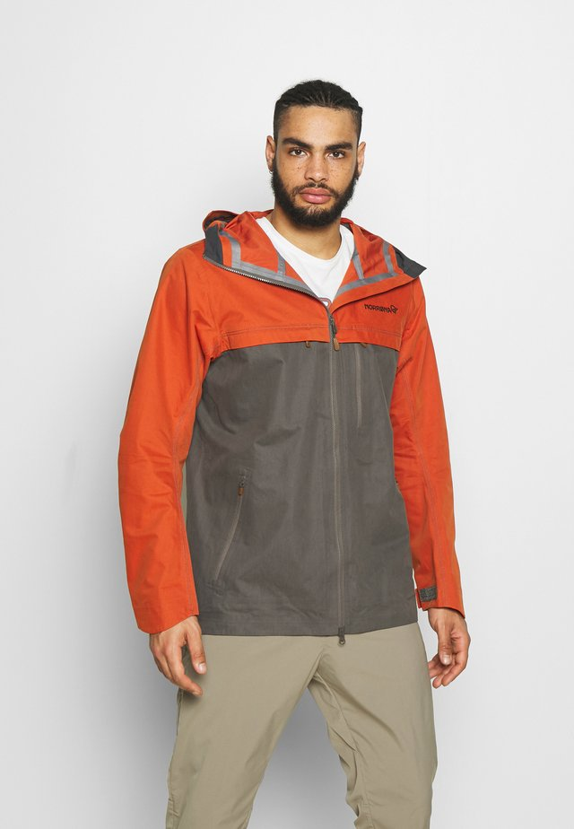 SVALBARD JACKET - Outdoorjacka - rooibos tea