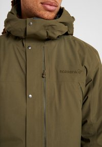 Norrøna - RØLDAL GORE TEX INSULATED - Outdoorjas - olive night - 4