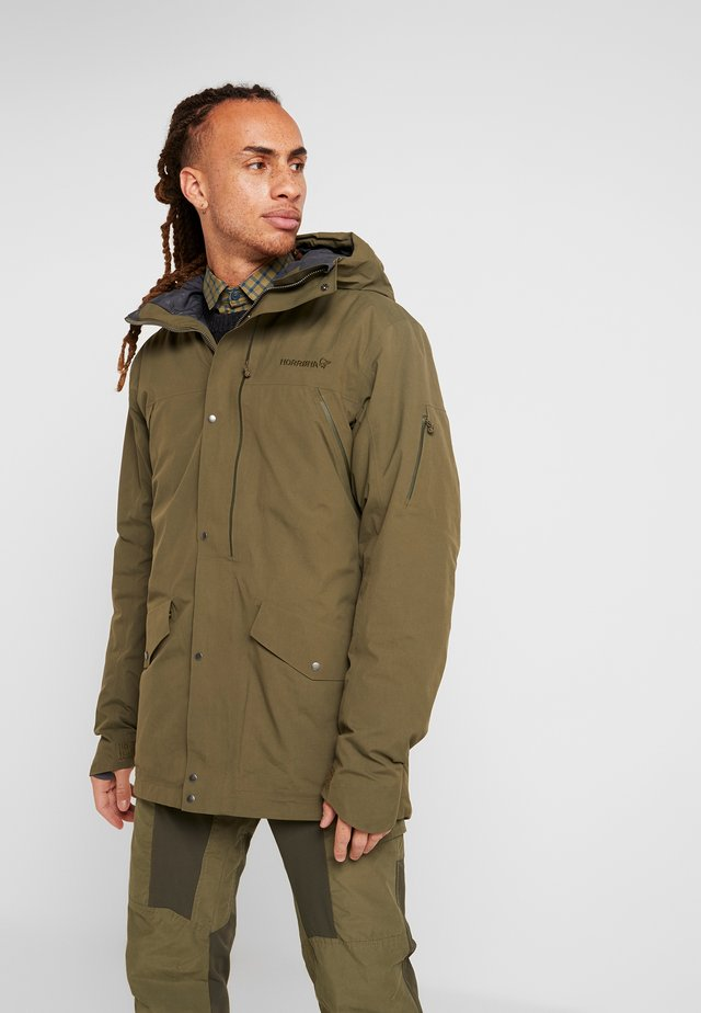 RØLDAL GORE TEX INSULATED - Outdoorjacka - olive night