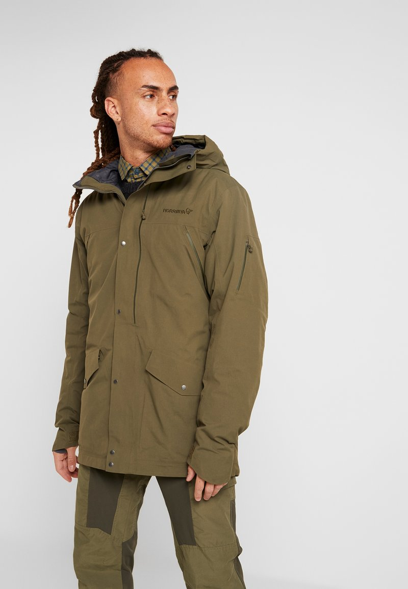 Norrøna - RØLDAL GORE TEX INSULATED - Outdoorjas - olive night