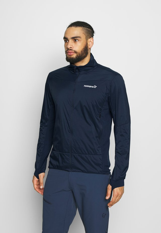 FALKETIND OCTA JACKET - Fleecetakki - indigo night