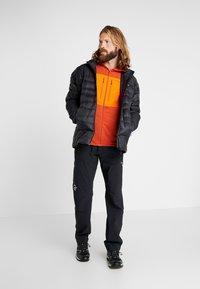 Norrøna - LYNGEN POWERSTRETCH PRO ZIP HOODIE - Fleece jacket - rooibos tea - 1